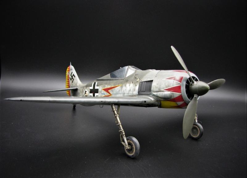 fw 190 A5 hasegawa  au 32.....  fini ...!!!! - Page 3 Img_6470