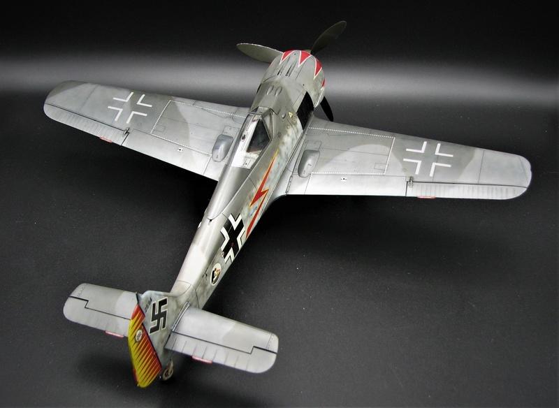 fw 190 A5 hasegawa  au 32.....  fini ...!!!! - Page 3 Img_6474