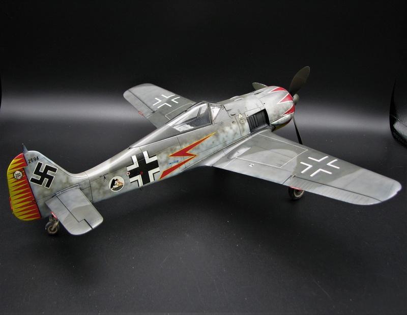 fw 190 A5 hasegawa  au 32.....  fini ...!!!! - Page 3 Img_6476