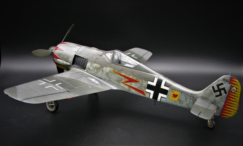 fw 190 A5 hasegawa  au 32.....  fini ...!!!! - Page 3 Img_6477