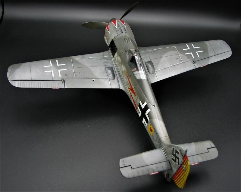 fw 190 A5 hasegawa  au 32.....  fini ...!!!! - Page 3 Img_6512