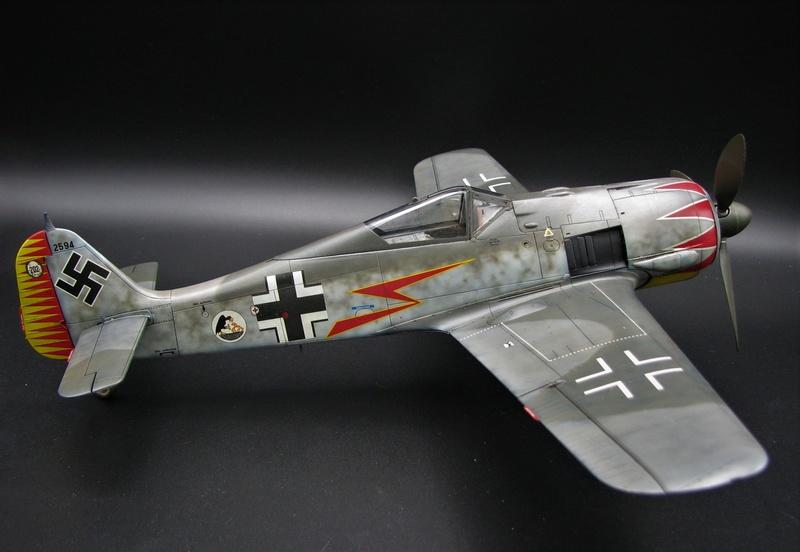 fw 190 A5 hasegawa  au 32.....  fini ...!!!! - Page 3 Img_6515