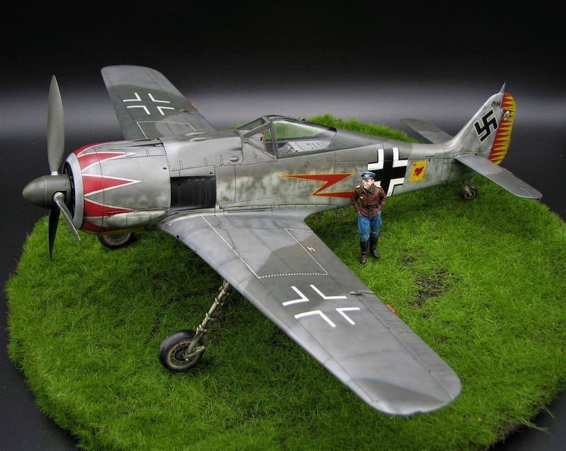 fw 190 A5 hasegawa  au 32.....  fini ...!!!! - Page 3 Img_6523