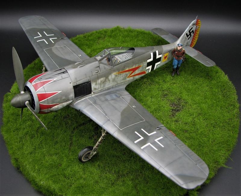 fw 190 A5 hasegawa  au 32.....  fini ...!!!! - Page 3 Img_6530
