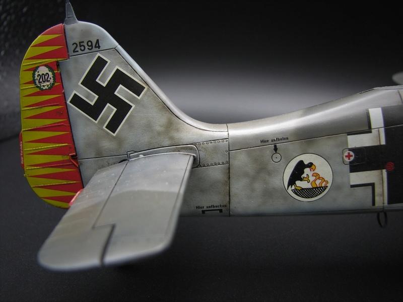 fw 190 A5 hasegawa  au 32.....  fini ...!!!! - Page 4 Img_6533