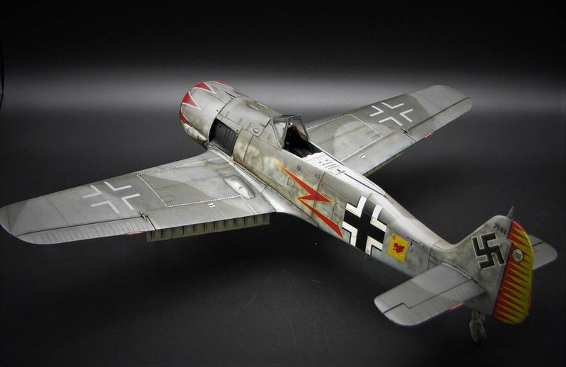 fw 190 A5 hasegawa  au 32.....  fini ...!!!! - Page 4 Img_6542