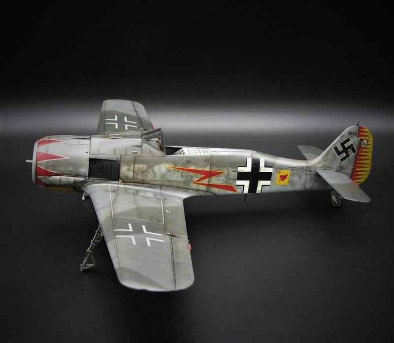 fw 190 A5 hasegawa  au 32.....  fini ...!!!! - Page 4 Img_6544