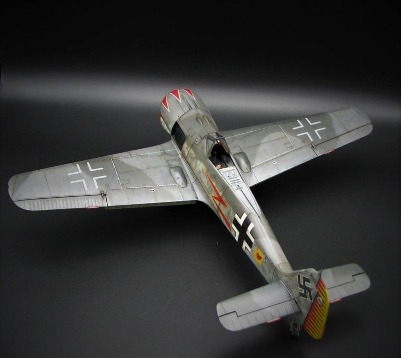 fw 190 A5 hasegawa  au 32.....  fini ...!!!! - Page 4 Img_6547