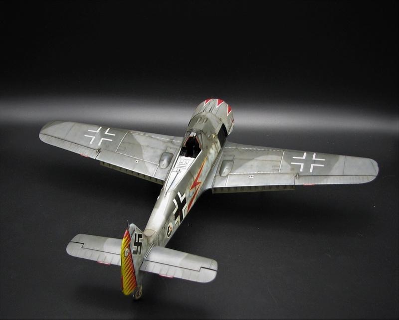 fw 190 A5 hasegawa  au 32.....  fini ...!!!! - Page 4 Img_6548
