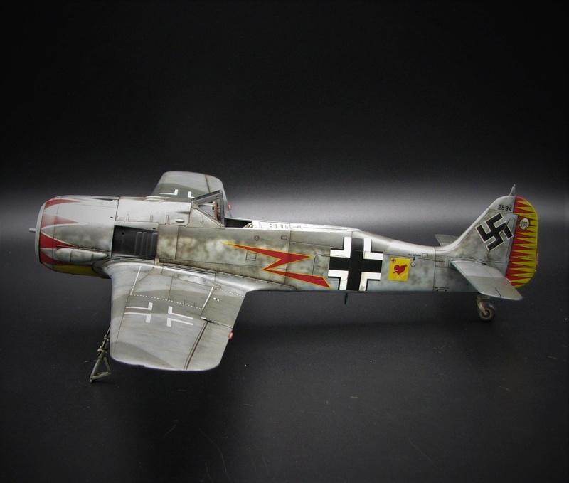 fw 190 A5 hasegawa  au 32.....  fini ...!!!! - Page 4 Img_6551