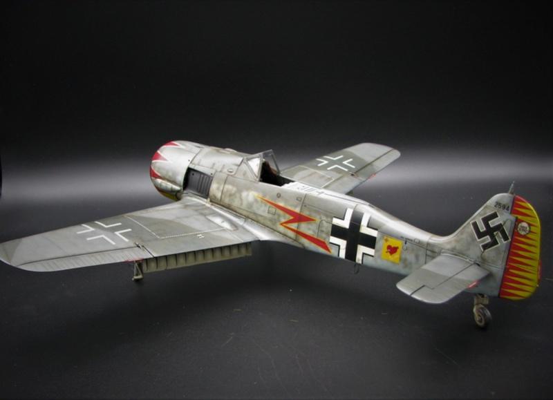 fw 190 A5 hasegawa  au 32.....  fini ...!!!! - Page 4 Img_6552