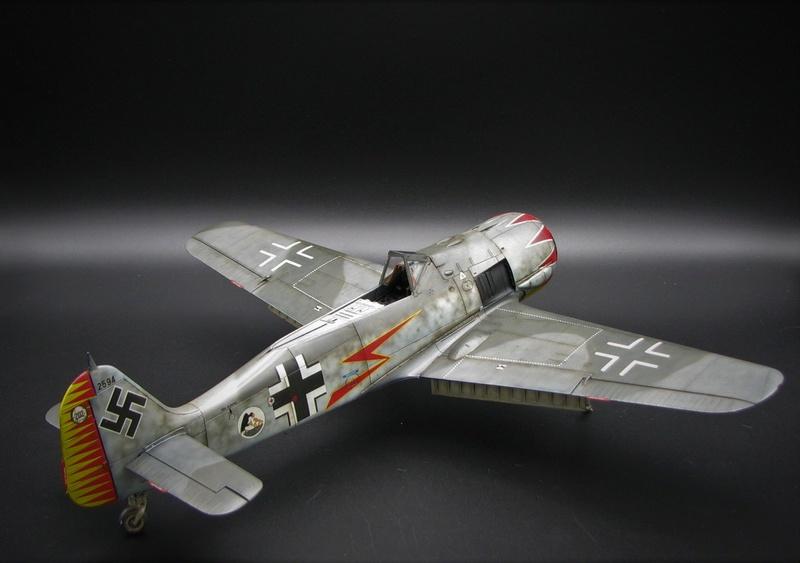 fw 190 A5 hasegawa  au 32.....  fini ...!!!! - Page 4 Img_6553