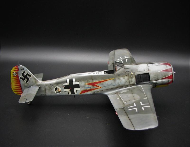 fw 190 A5 hasegawa  au 32.....  fini ...!!!! - Page 4 Img_6554