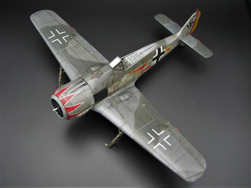 fw 190 A5 hasegawa  au 32.....  fini ...!!!! - Page 4 Img_6555