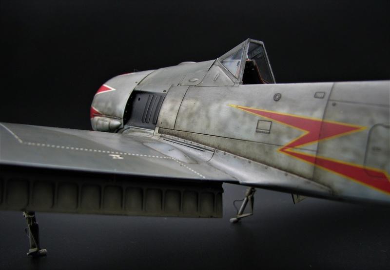 fw 190 A5 hasegawa  au 32.....  fini ...!!!! - Page 4 Img_6557