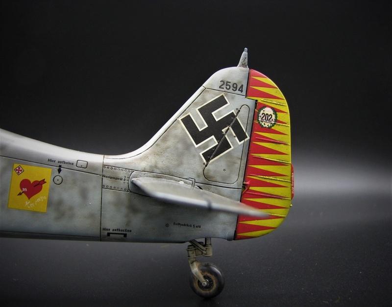fw 190 A5 hasegawa  au 32.....  fini ...!!!! - Page 4 Img_6559