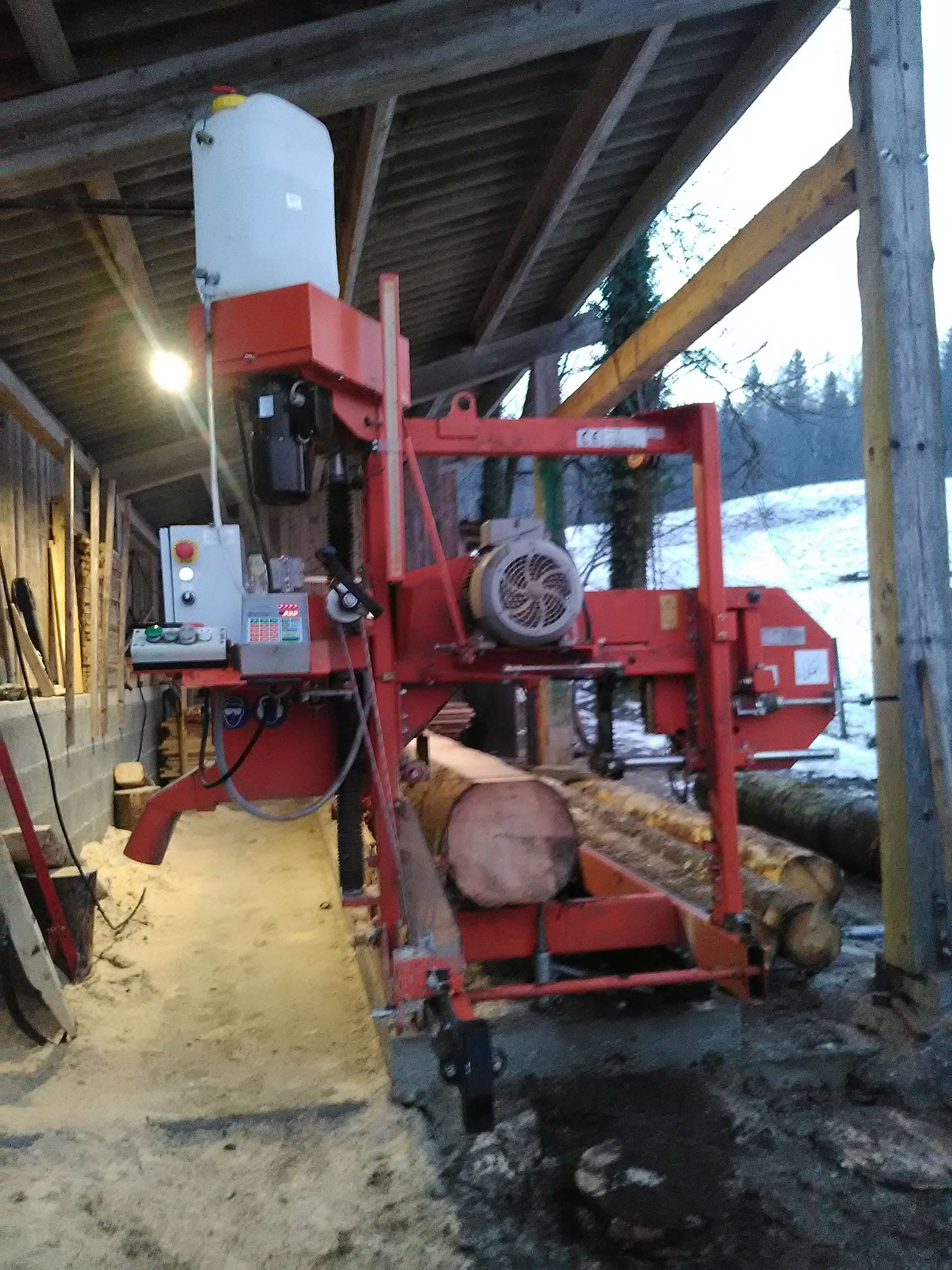 Montage forestier d'un MB Trac 800 - Page 6 Img_2017