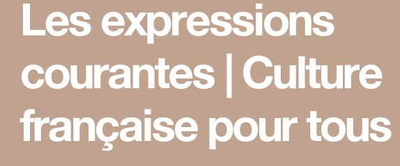 Expressions pour parler français..... 4-6ca510