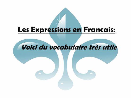 Expressions pour parler français..... 6-lese10