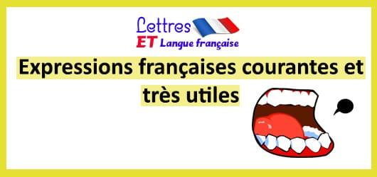 Expressions pour parler français..... 7-10