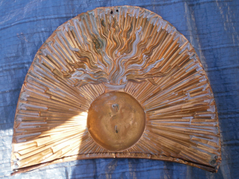 PLAQUE de bonnet d'ourson  ??? 00311