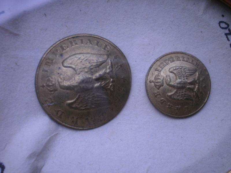 Bouton de la garde impériale 1854/1870 00711