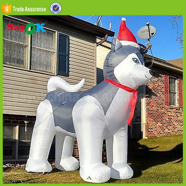 Husky Lawn Ornament Htb1pd10