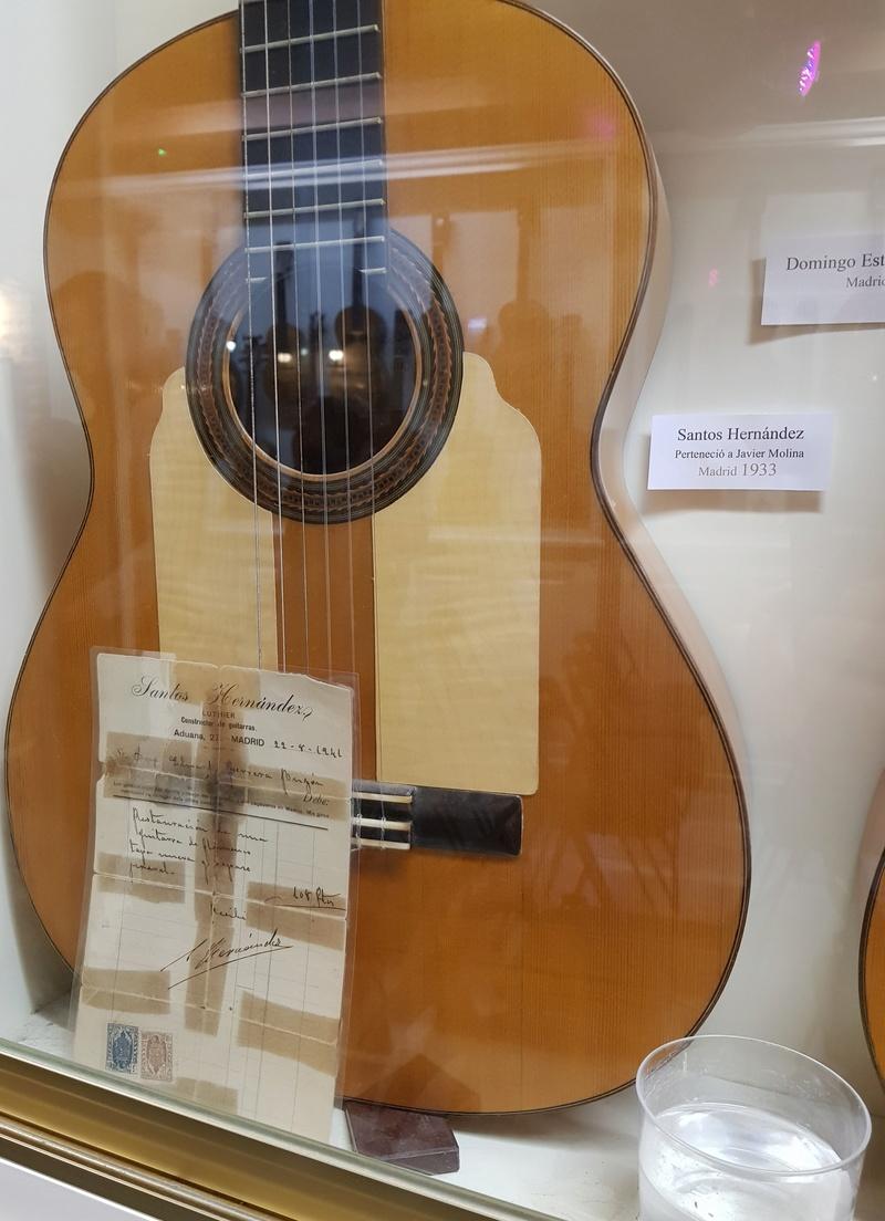 Visite de la maison de la Guitare à Séville  20181236