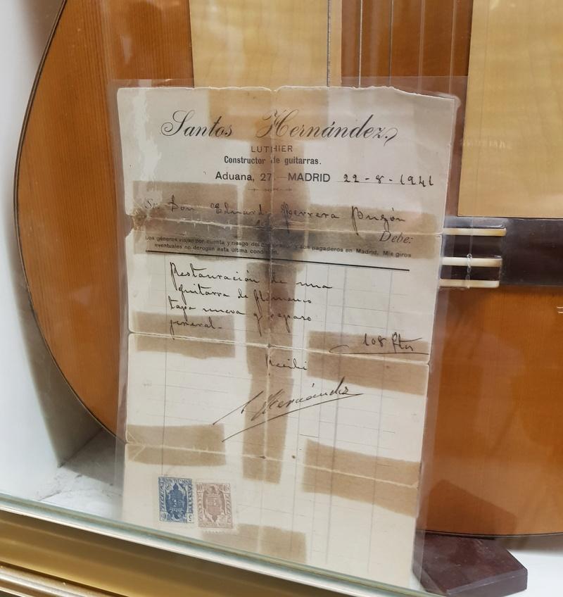 Visite de la maison de la Guitare à Séville  20181237
