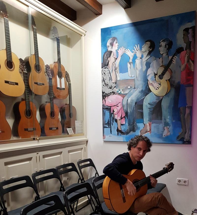 Visite de la maison de la Guitare à Séville  20181247