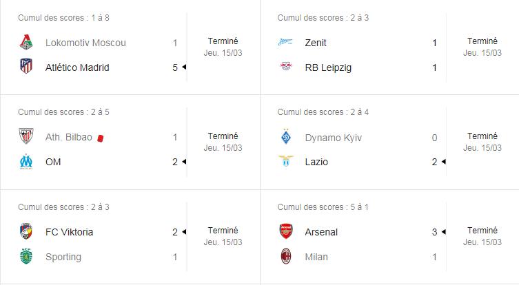 ligue europa 3eme journée Captur50