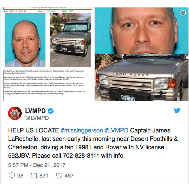 False Flag News - COVER UP? FBI says it will take a YEAR before motive of Vegas shooter is revealed as LVPD police captain mysteriously goes missing Screen10