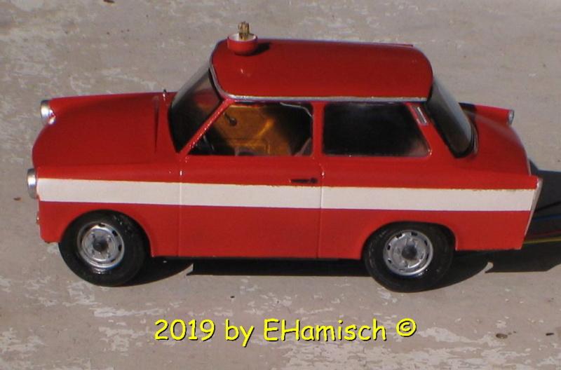 Revell Trabant 601S Bausatz 1990 Umbau zur Feuerwehr Img_7620