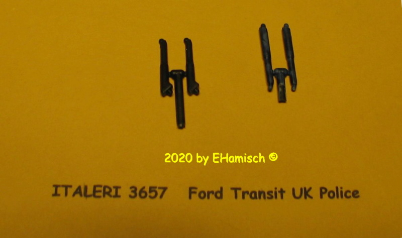 ITALERI 3657 Ford Transit UK Police Img_9641