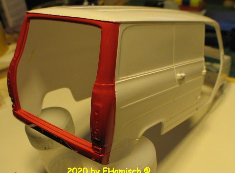ITALERI 3657 Ford Transit UK Police Img_9721