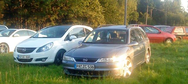 Mein Vectra A und mein Corsa D Dsc00114