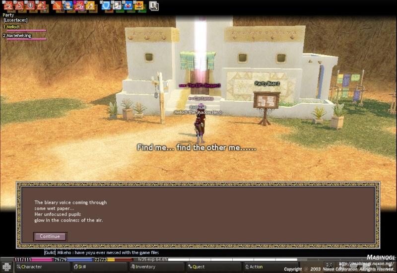 It seems NPCs are creepers (likeanna) Mabino11