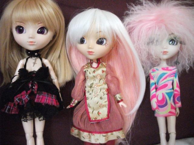 mes 3 petites puces ! [pullip Naomi , Shinku , Papin] Dscf2811