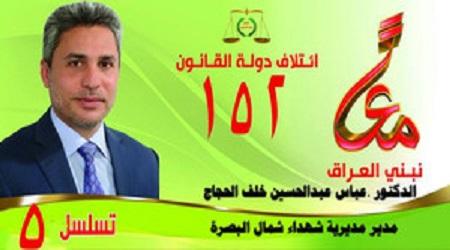 الدكتور عباس عبد الحسين خلف الحجاج 210