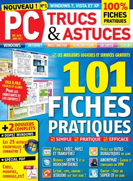 PC Trucs et Astuces Decembre 2010/Janvier 2011 Sansti12
