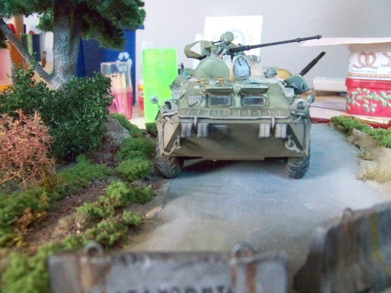 BTR80A APC Russe a la frontière Ukrainniene  100_3105