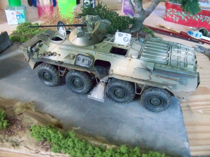 BTR80A APC Russe a la frontière Ukrainniene  100_3106