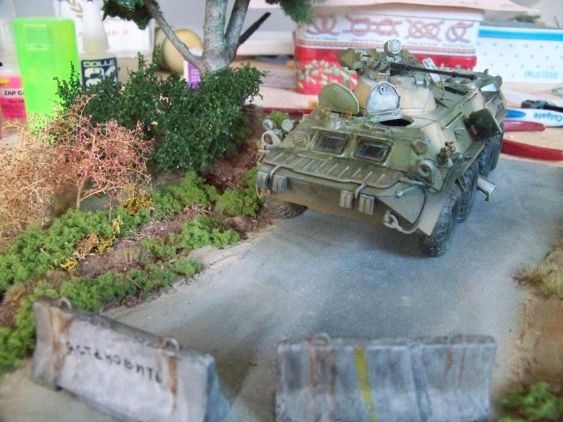 BTR80A APC Russe a la frontière Ukrainniene  100_3107