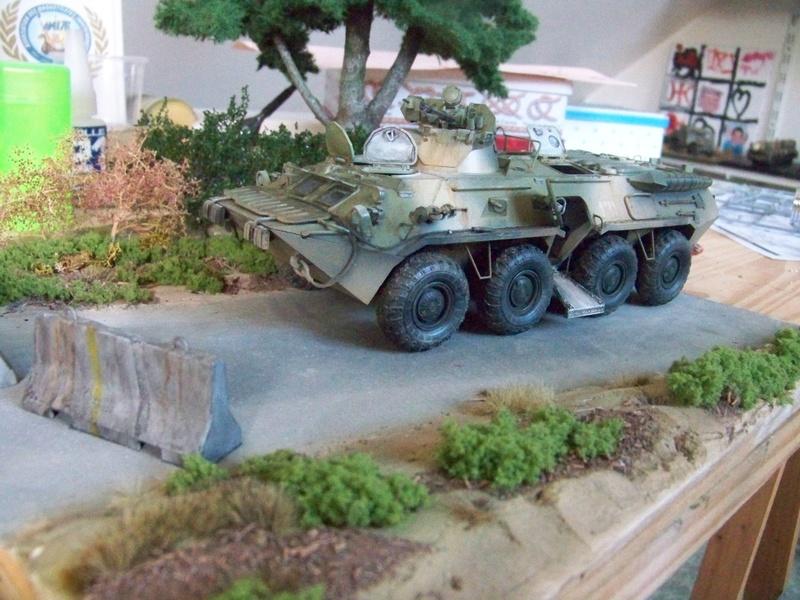 BTR80A APC Russe a la frontière Ukrainniene  100_3108
