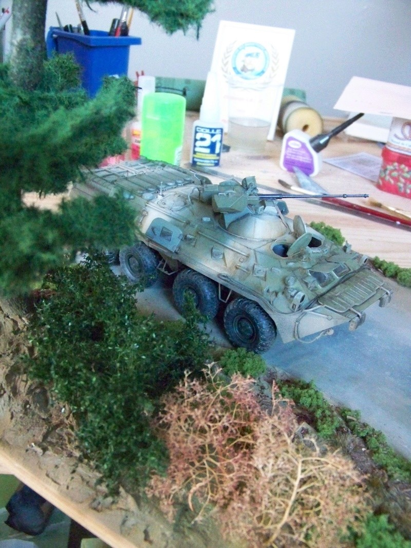 BTR80A APC Russe a la frontière Ukrainniene  100_3112