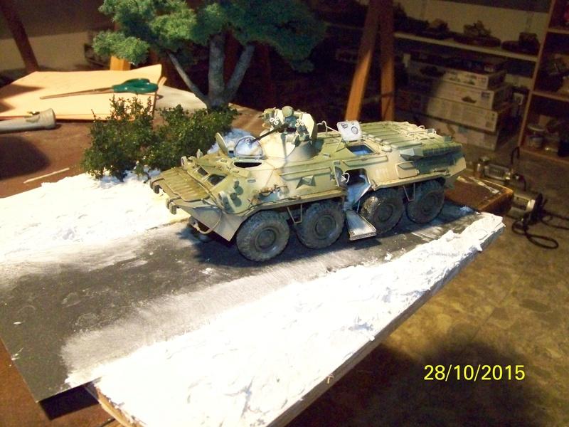 BTR80A APC Russe a la frontière Ukrainniene  100_3857