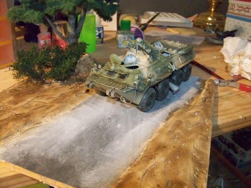 BTR80A APC Russe a la frontière Ukrainniene  100_3861