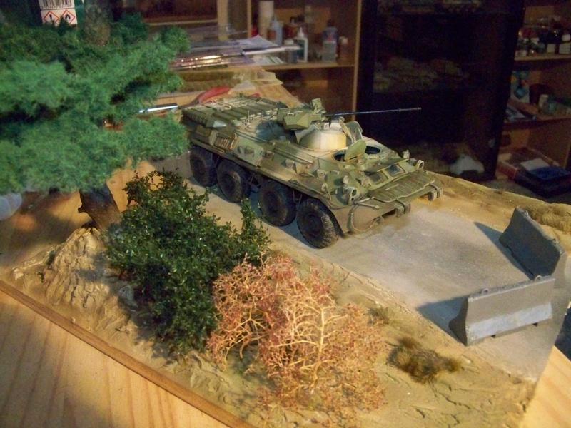 BTR80A APC Russe a la frontière Ukrainniene  100_3883