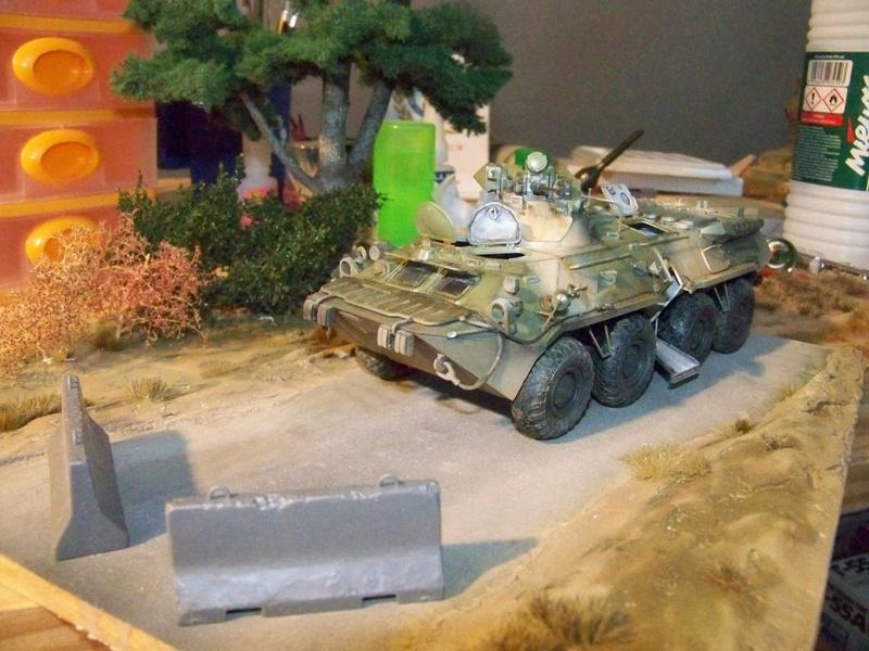 BTR80A APC Russe a la frontière Ukrainniene  100_3885