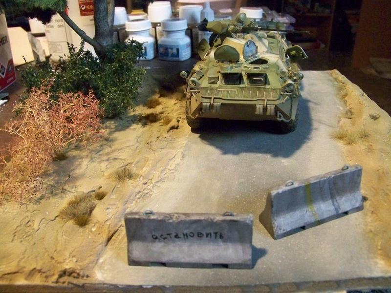 BTR80A APC Russe a la frontière Ukrainniene  100_3897